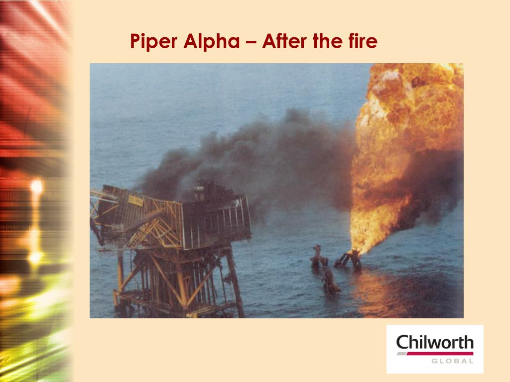 Piper Alpha – After the fire