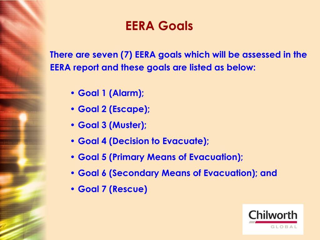 EERA Goals