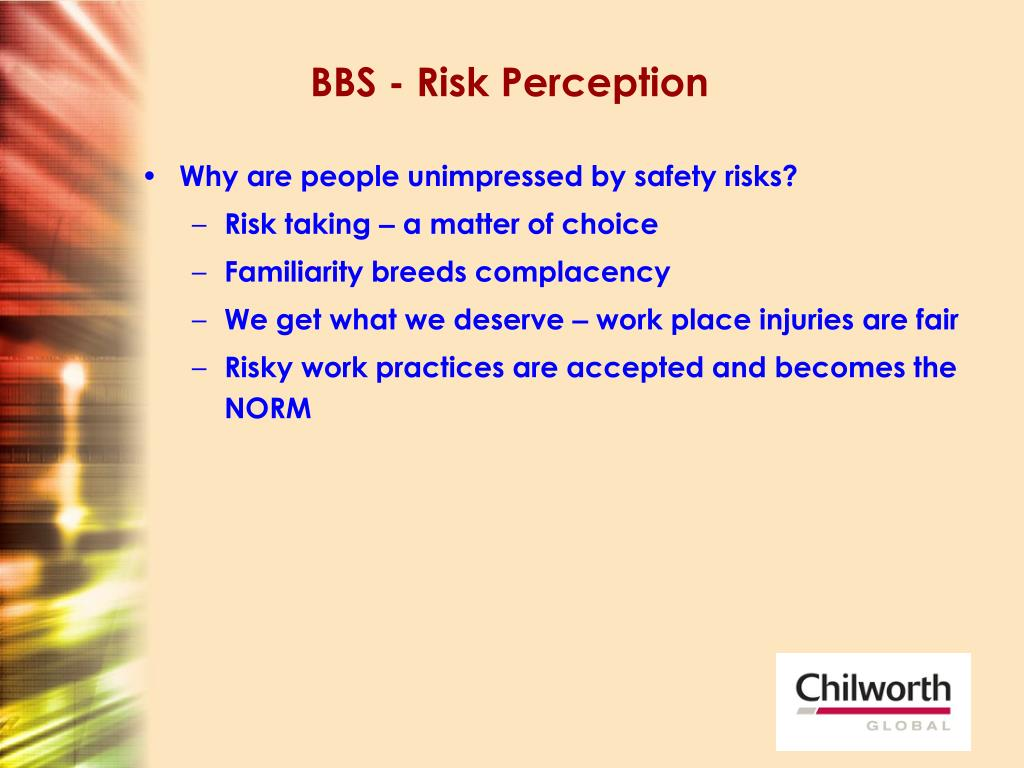BBS - Risk Perception