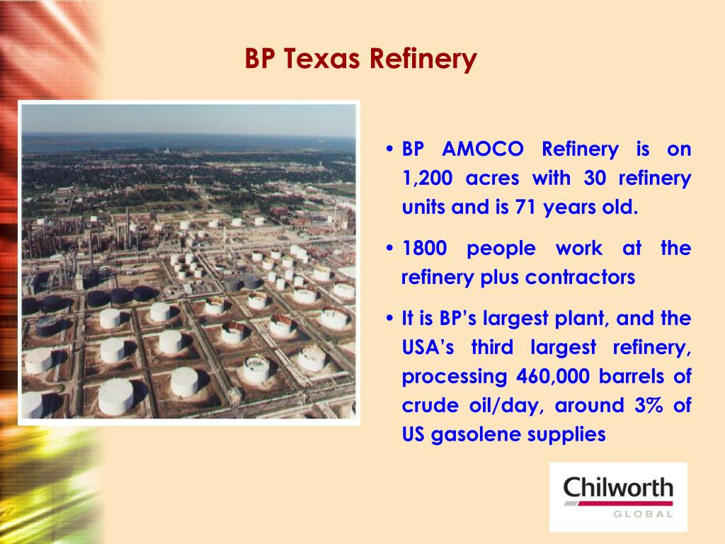 BP Texas Refinery