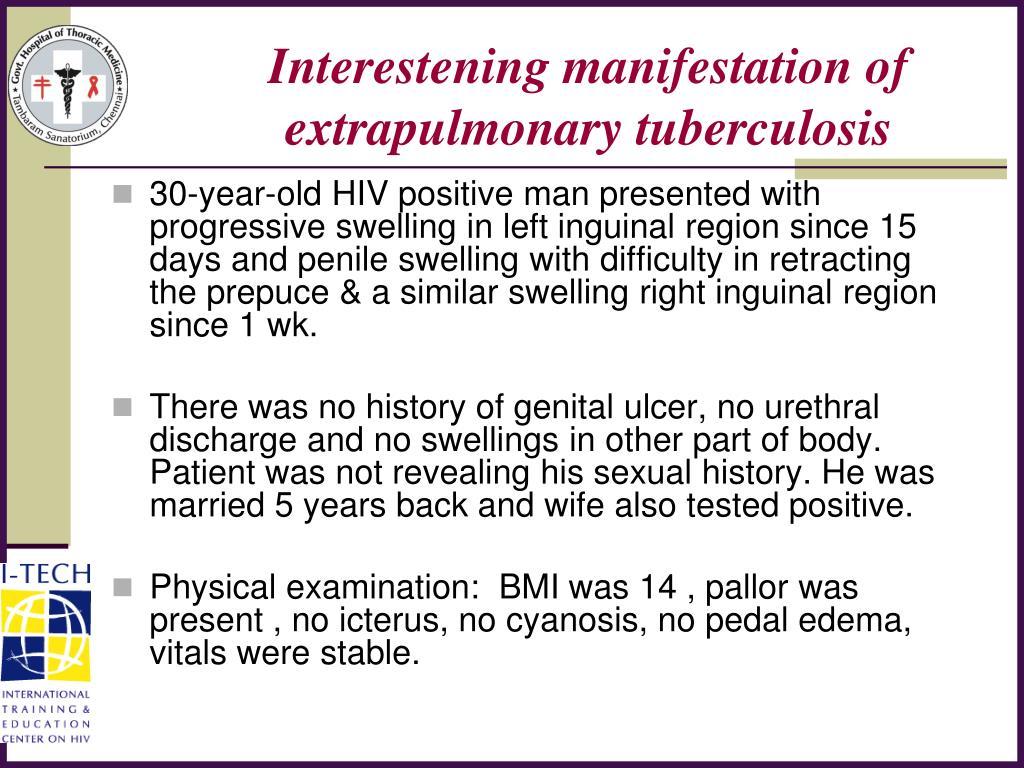 Interestening manifestation of extrapulmonary tuberculosis