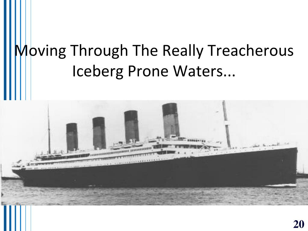 Moving Through The Really Treacherous