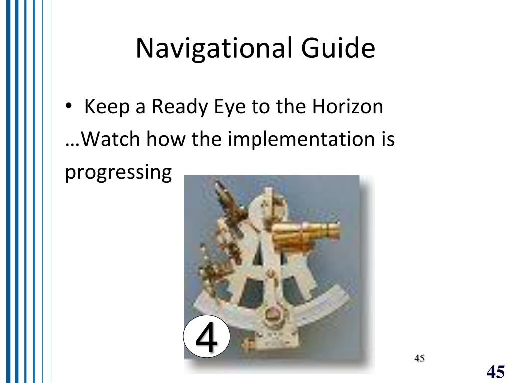 Navigational Guide