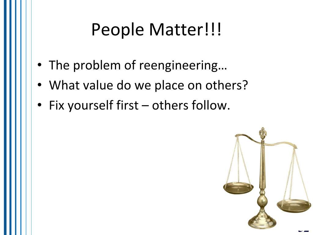 People Matter!!!