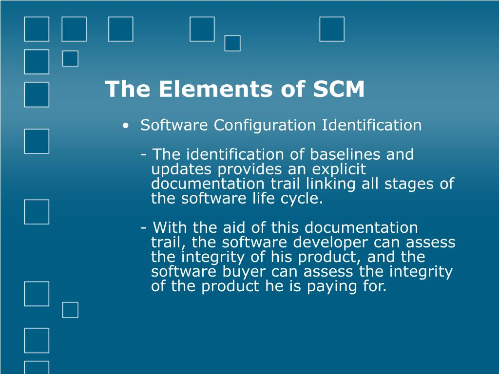 The Elements of SCM