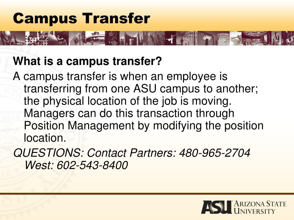 Campus Transfer