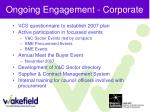 ongoing engagement corporate