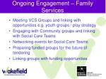 ongoing engagement family services