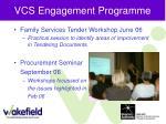 vcs engagement programme29