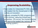 improving scalability