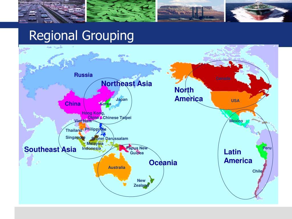 Regional Grouping