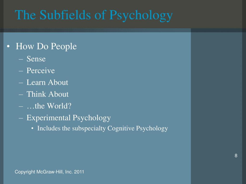 subfields of psychology Psychology and sociology go hand in hand – they are both the scientific study of people both help people understand the dynamics of emotions, relationships and.