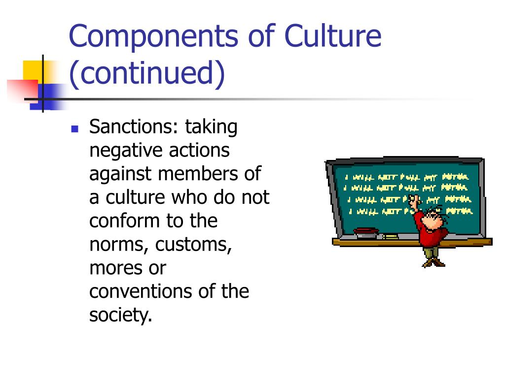 Components of Culture (continued)