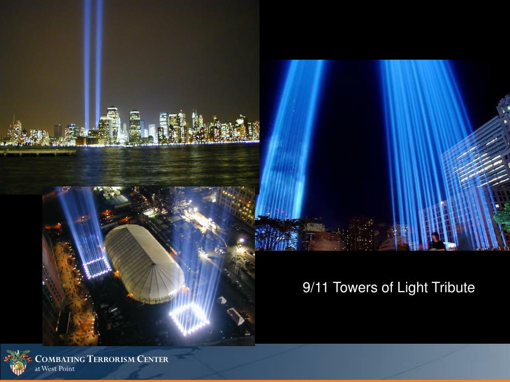 9/11 Towers of Light Tribute