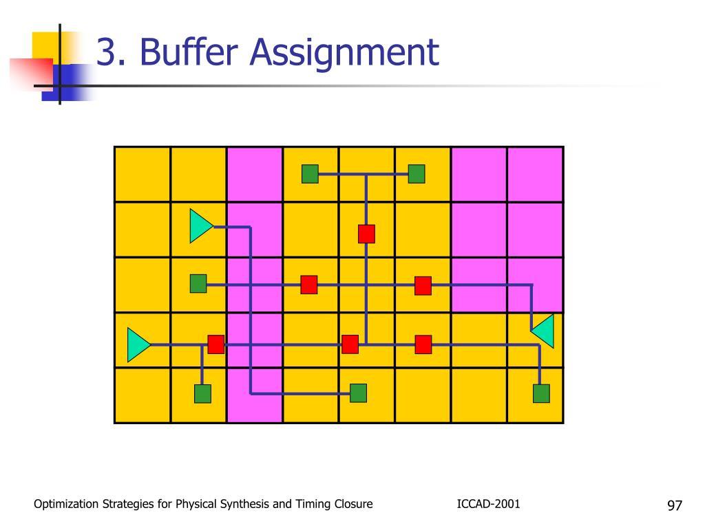 3. Buffer Assignment