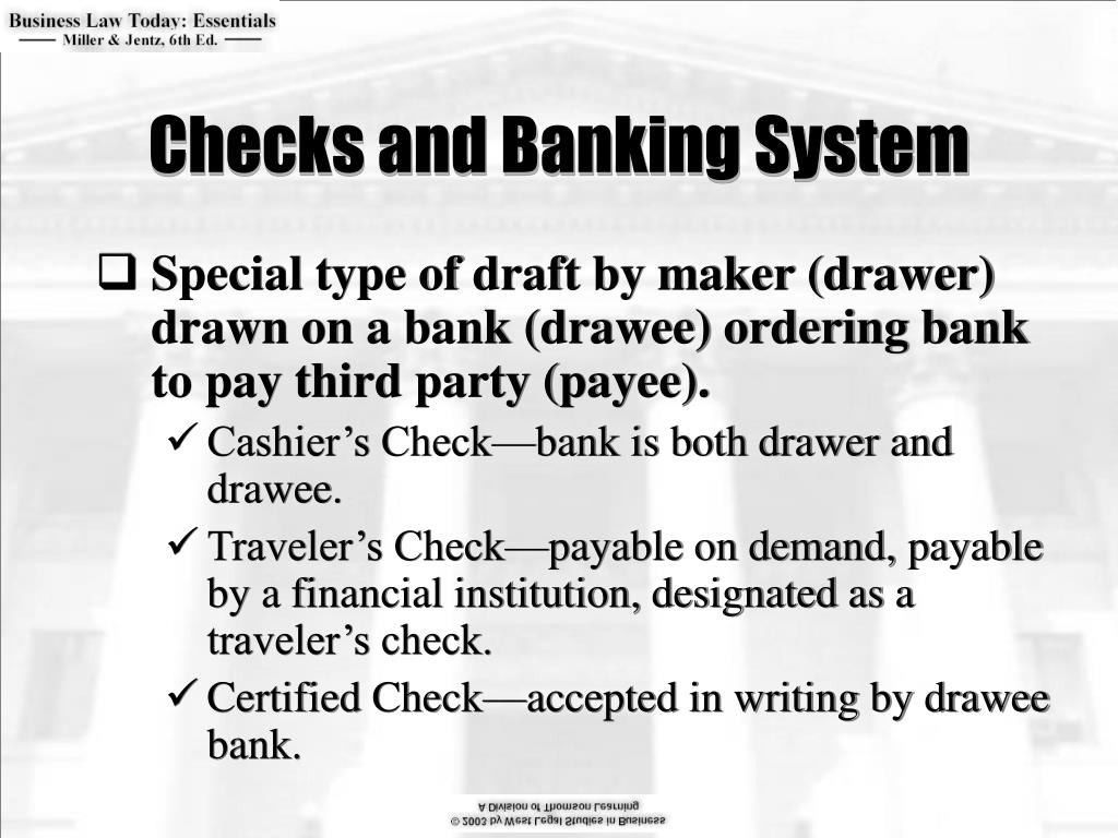 Checks and Banking System