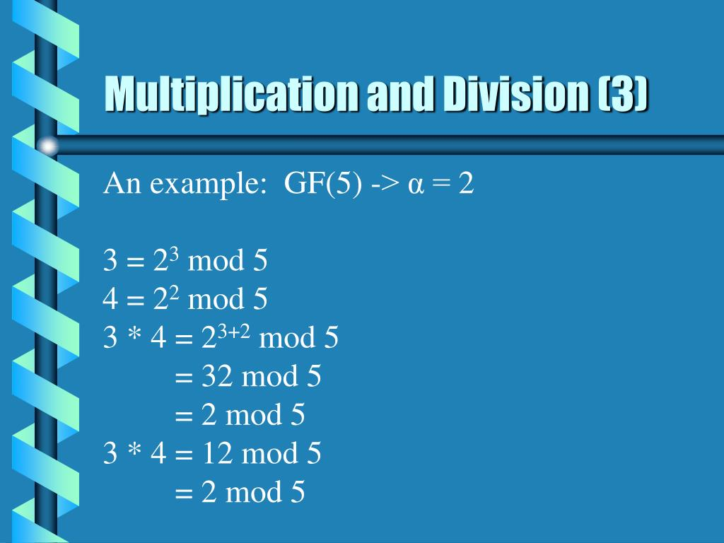 Multiplication and Division (3)