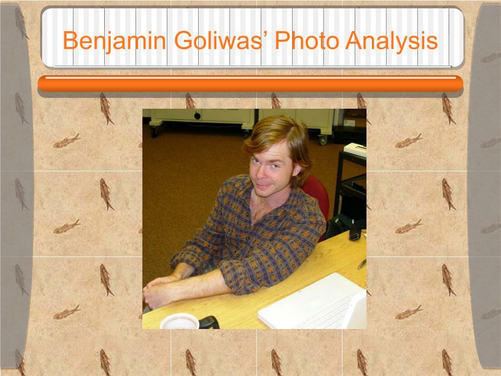 Benjamin Goliwas' Photo Analysis