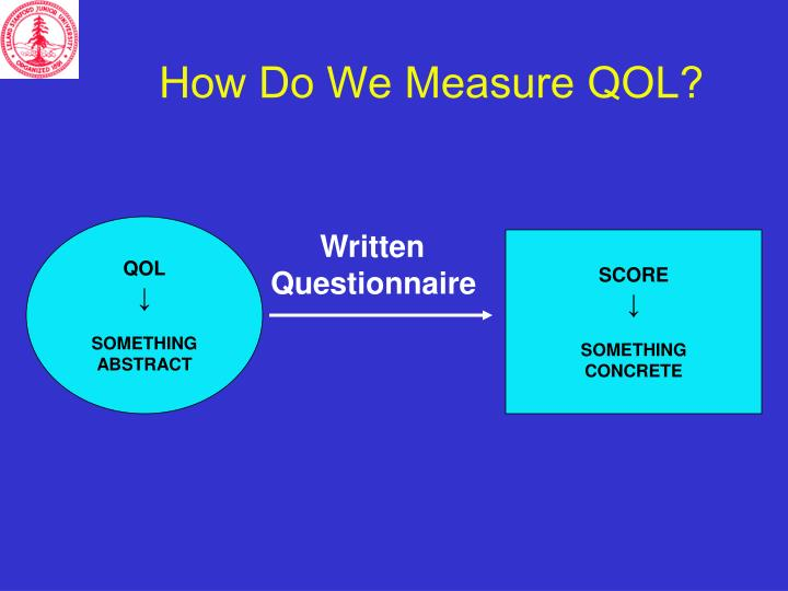 How Do We Measure QOL?