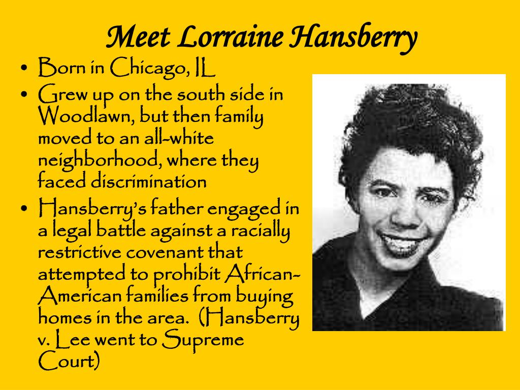 the idea of black feminism in a raisin in the sun a play by lorraine hansberry A raisin in the sun, by lorraine hansberry is the  read the play a raisin in the sun by lorraine  lorraine grew up in a successful black family.