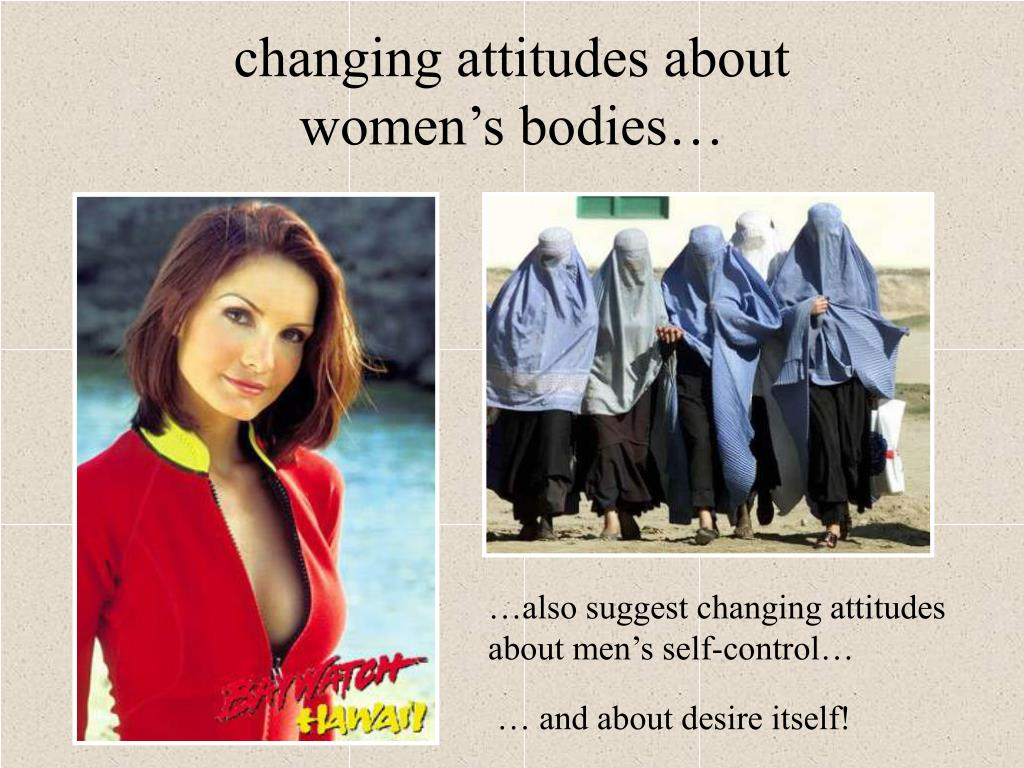 changing attitudes about