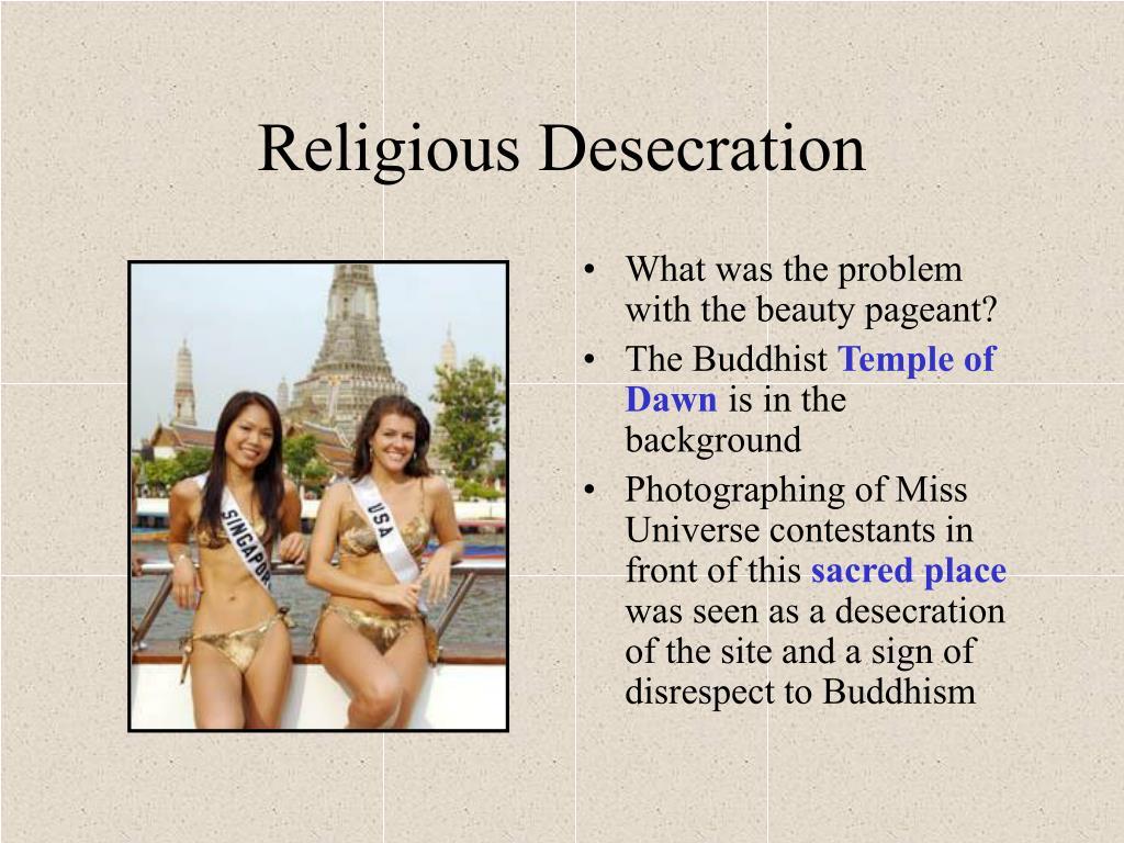 Religious Desecration