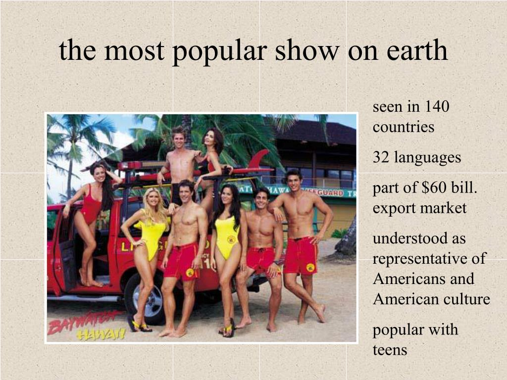 the most popular show on earth
