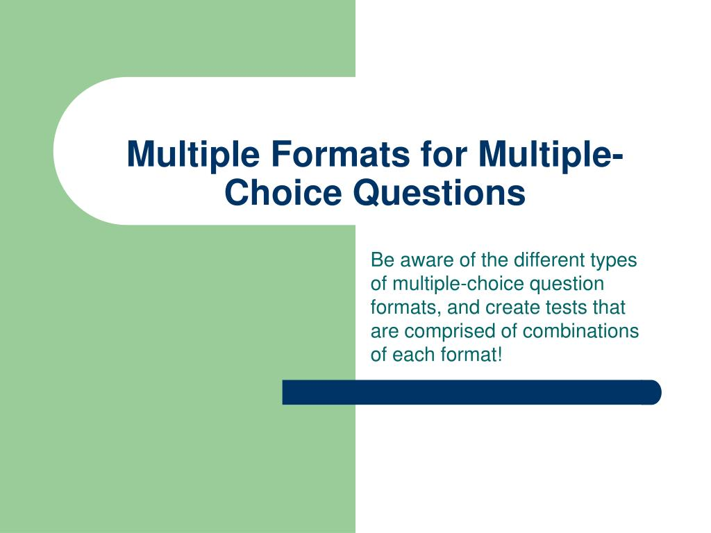 choice questions