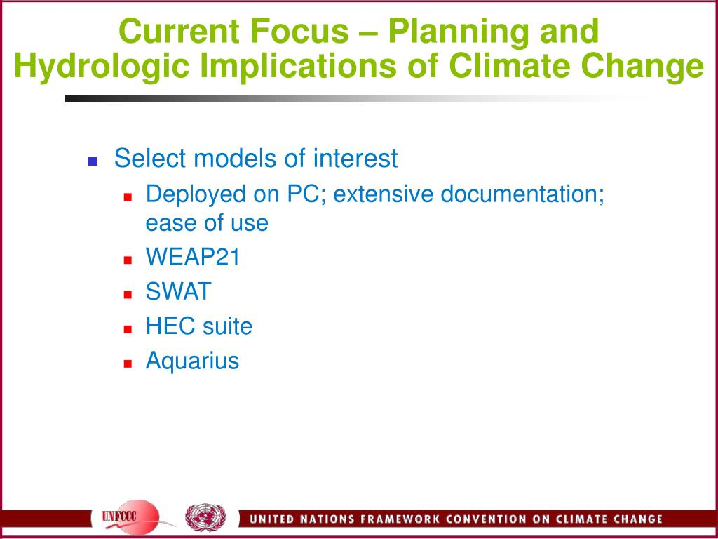 Current Focus – Planning and