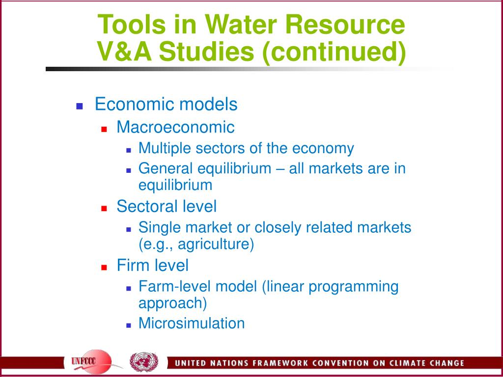 Tools in Water Resource