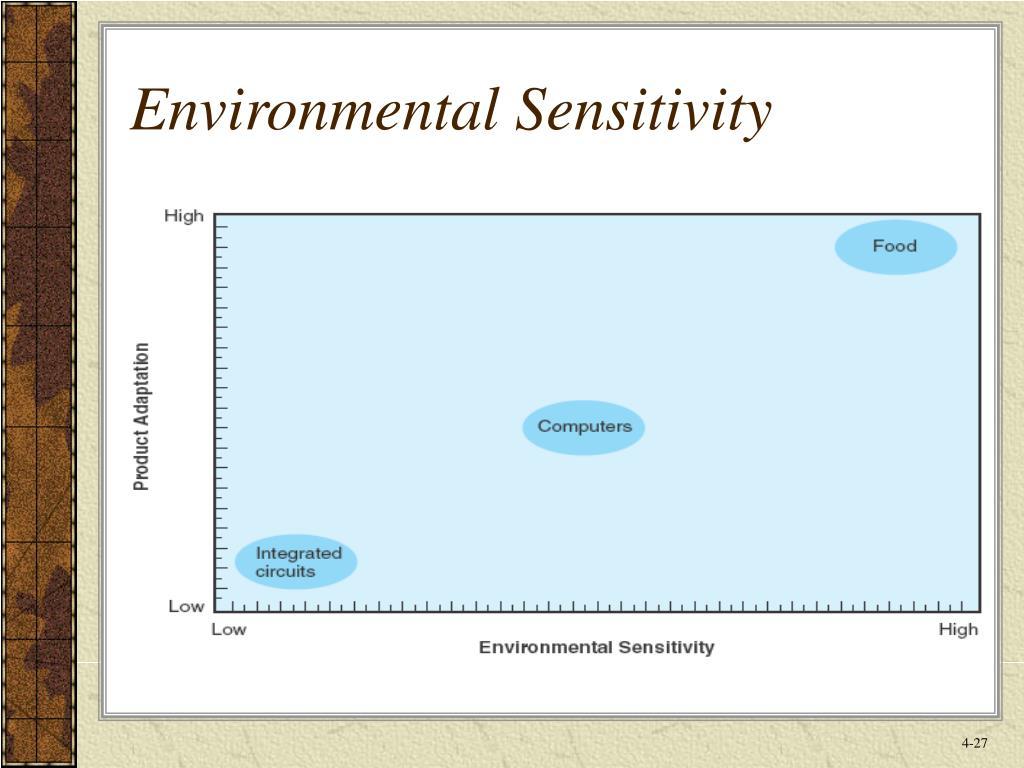 Environmental Sensitivity