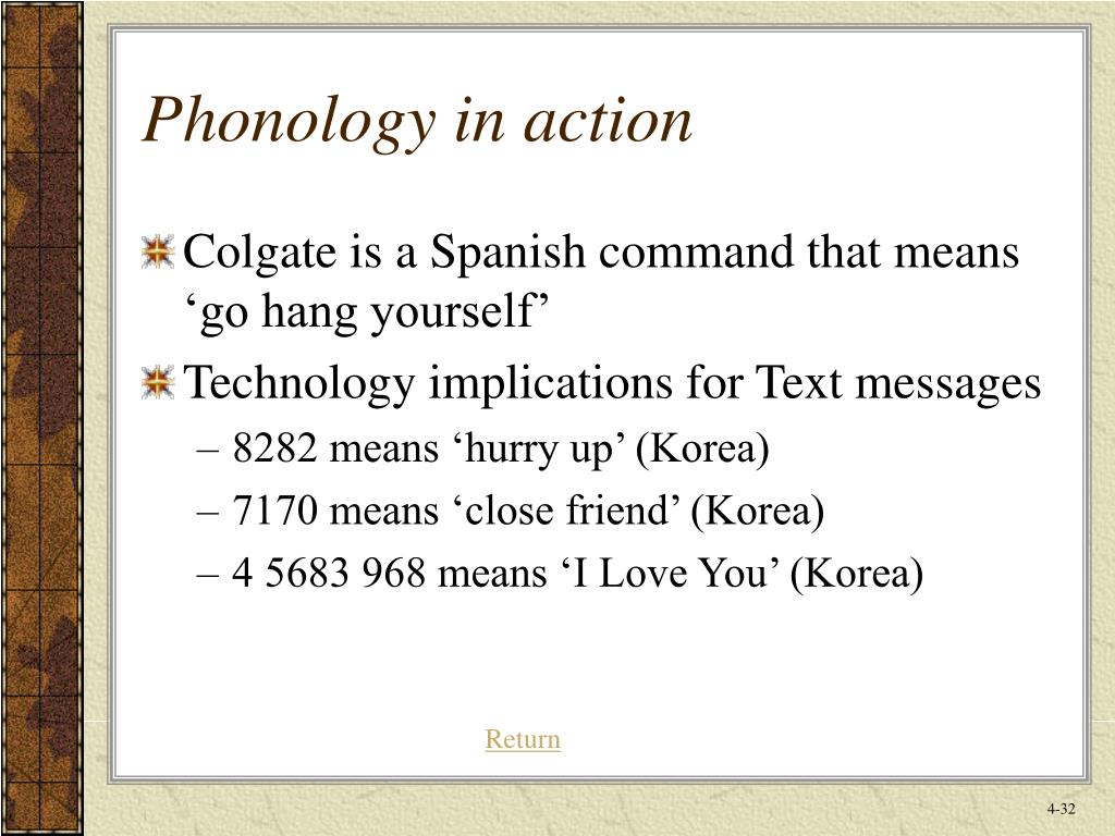 Phonology in action