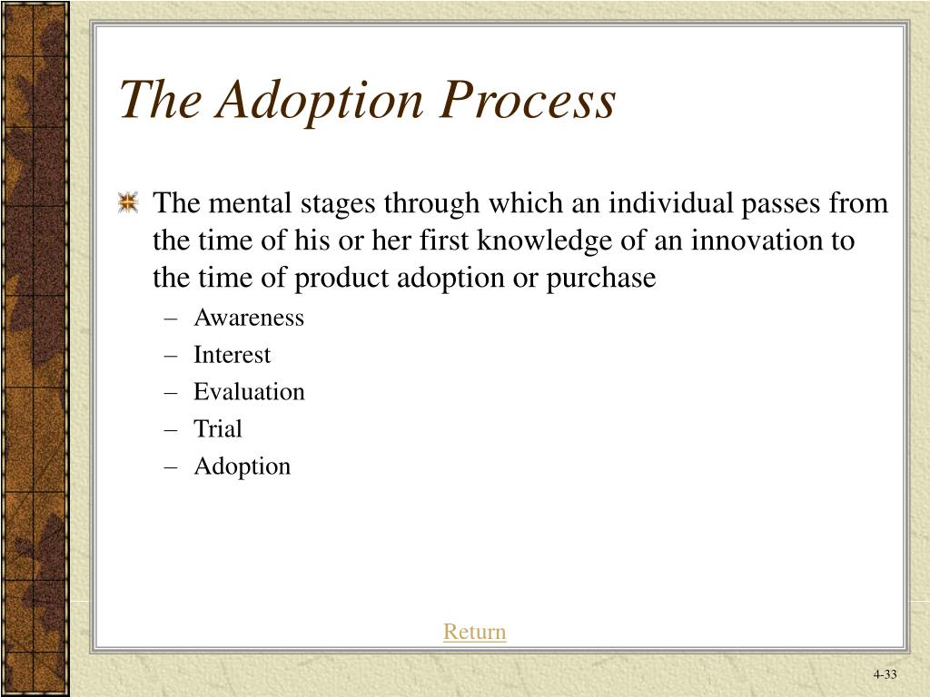 The Adoption Process