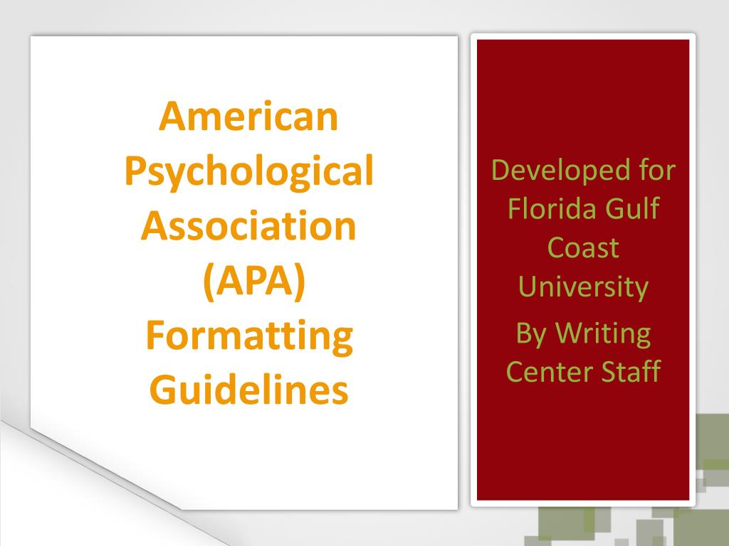 apa style psychology paper Introduction to apa style most classes in psychology will require you to write your papers in apa style, which is a writing style described in the publication manual of the american psychological association (which was.