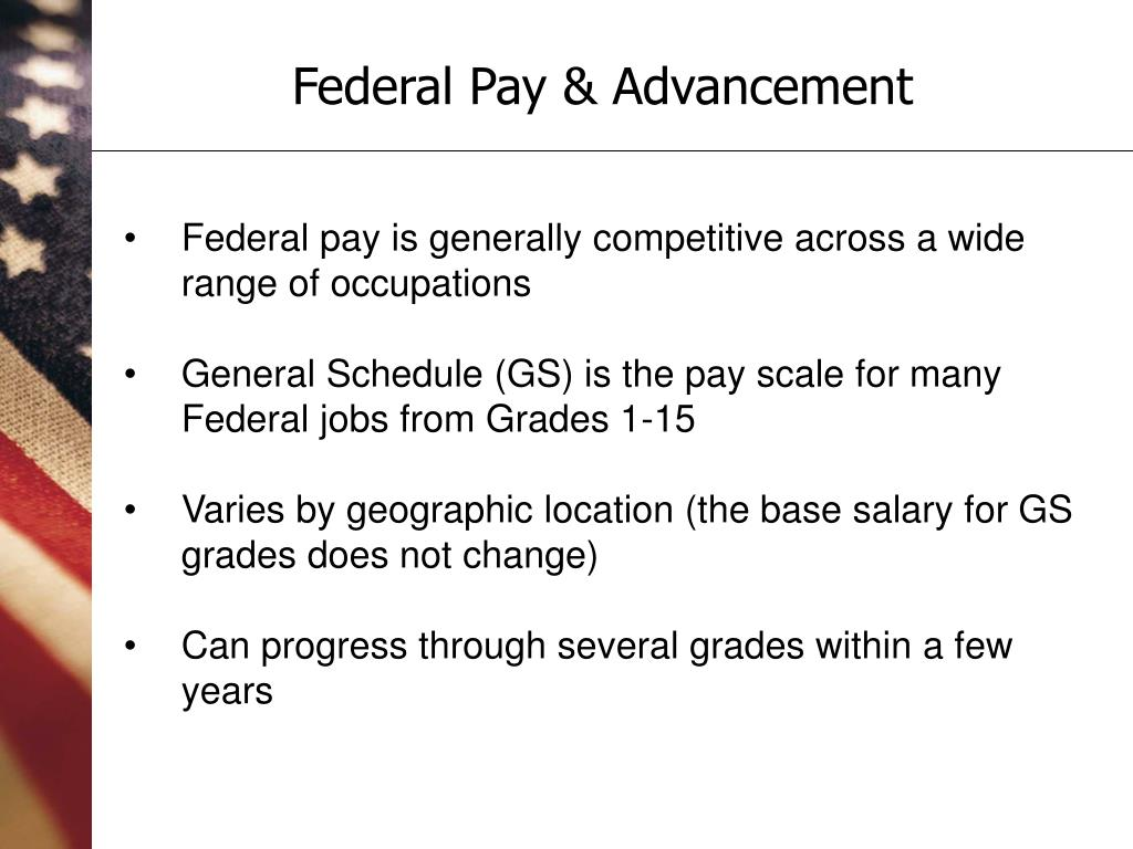 Federal Pay & Advancement