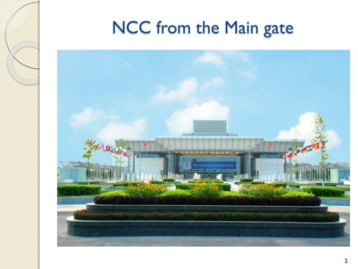 Ncc from the main gate