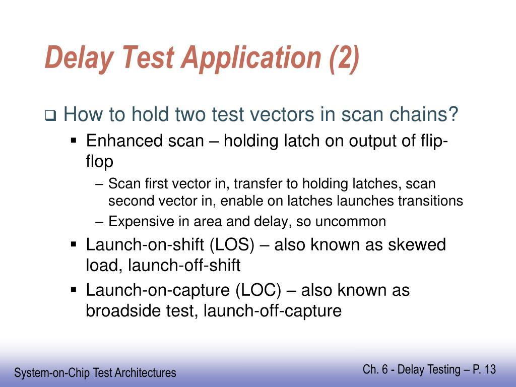 Delay Test Application (2)