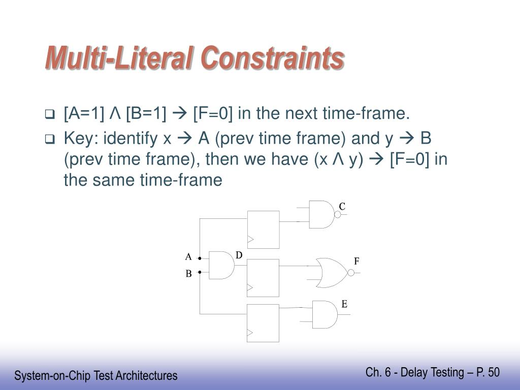 Multi-Literal Constraints