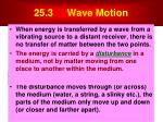 25 3 wave motion
