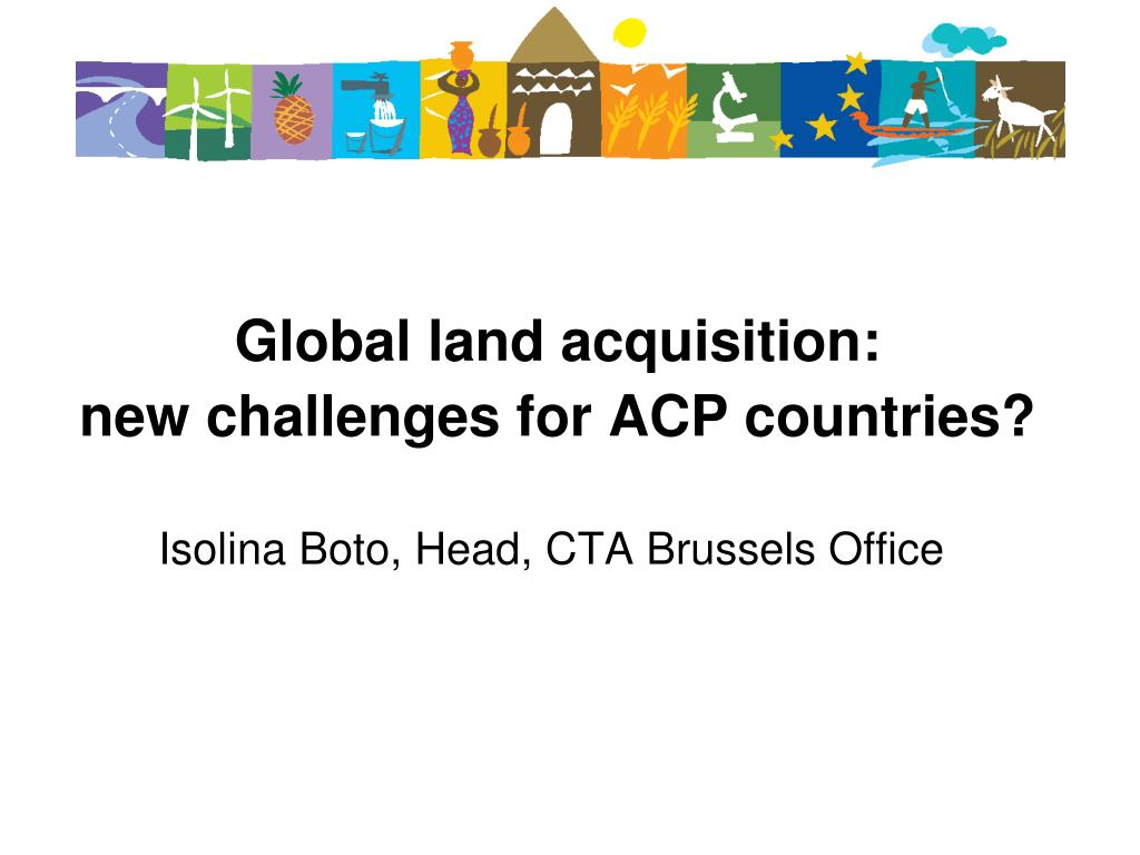 Global land acquisition: