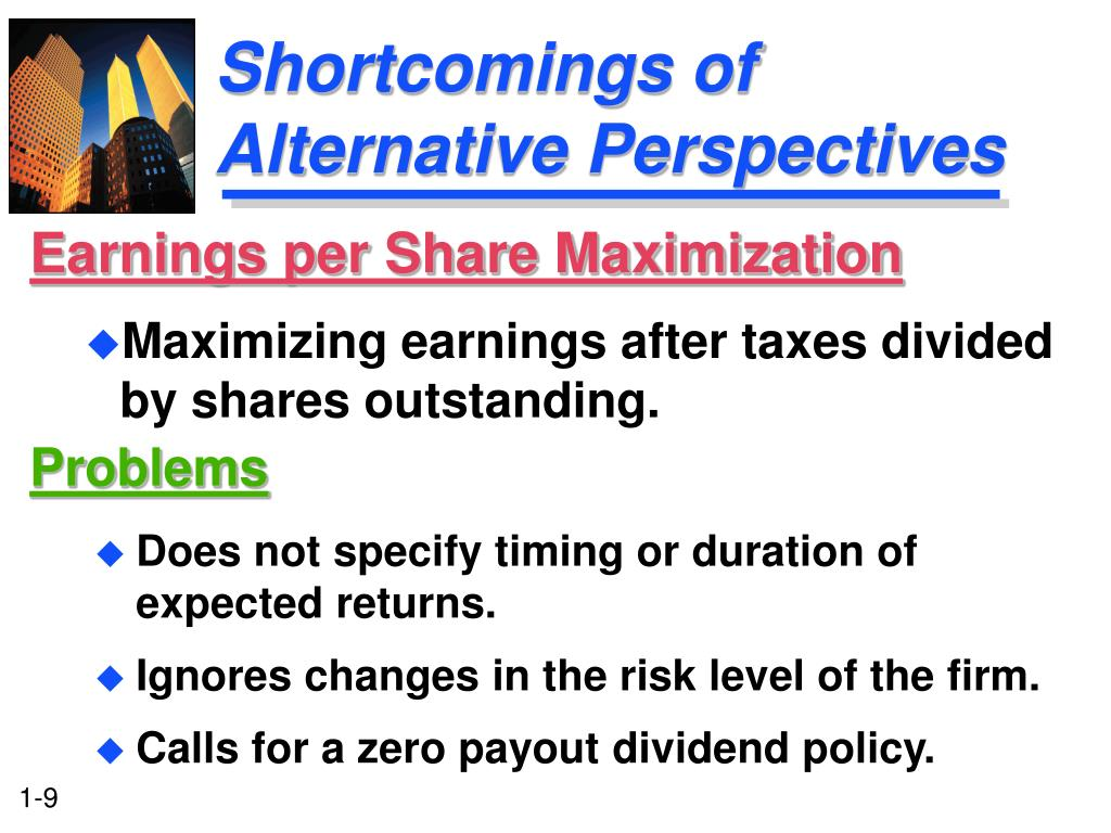 Shortcomings of Alternative Perspectives