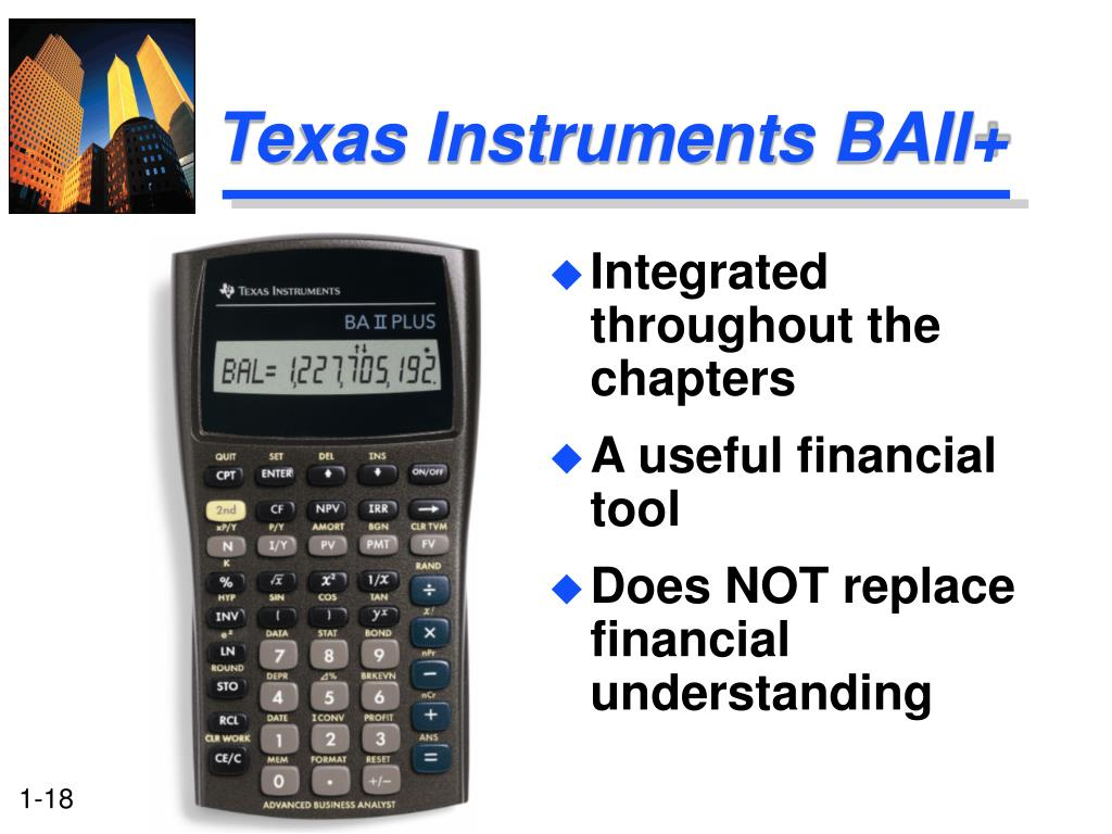 Texas Instruments BAII+
