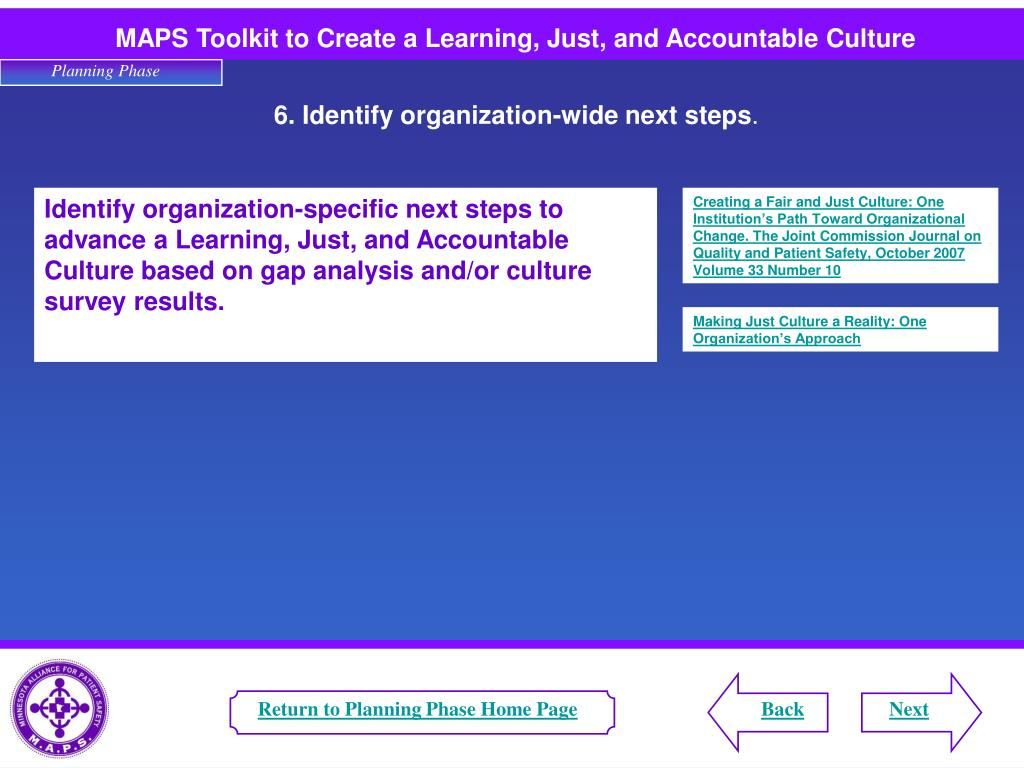Return to Planning Phase Home Page