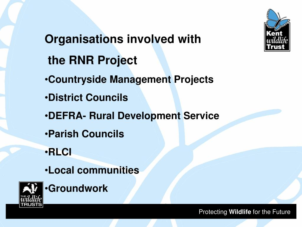 Organisations involved with