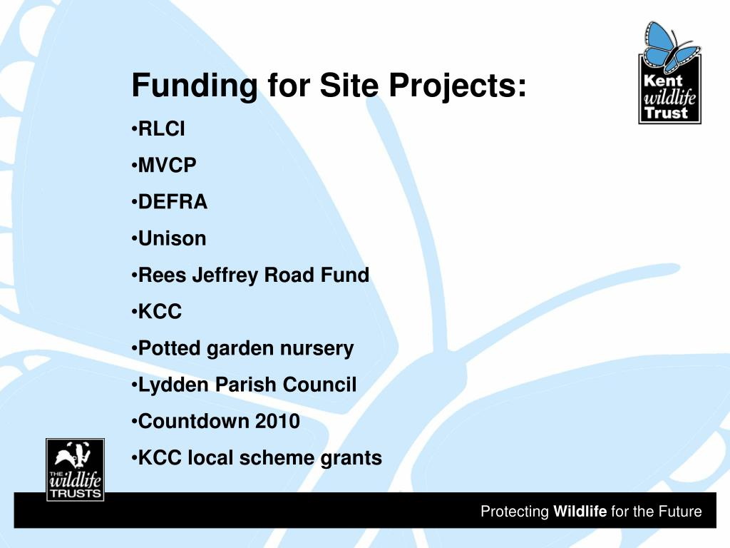 Funding for Site Projects: