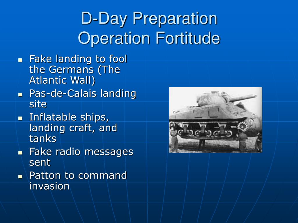 D-Day Preparation