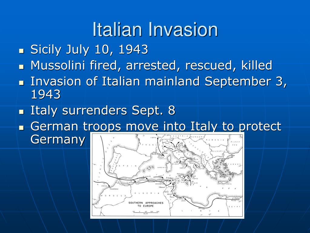 Italian Invasion
