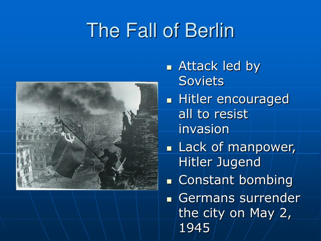 The Fall of Berlin
