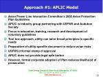 approach 1 aplic model