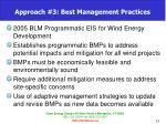 approach 3 best management practices